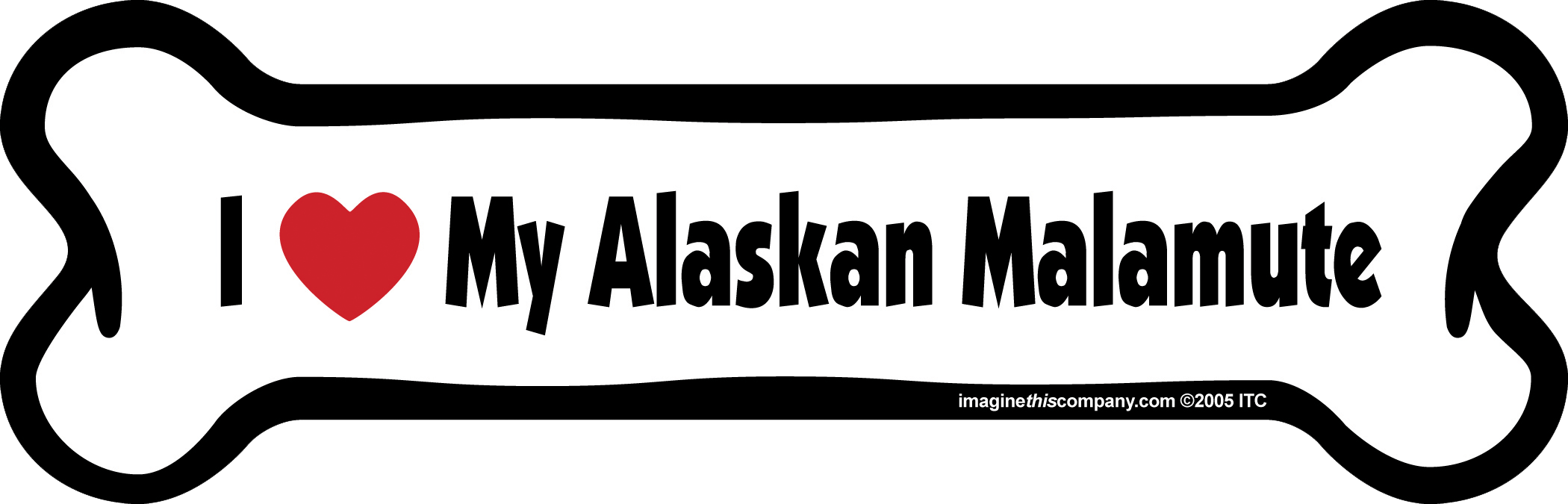 Magnet-Love Alaskan Mal SO