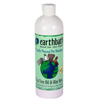 Earthbath TeaTree Aloe Shampoo   16oz