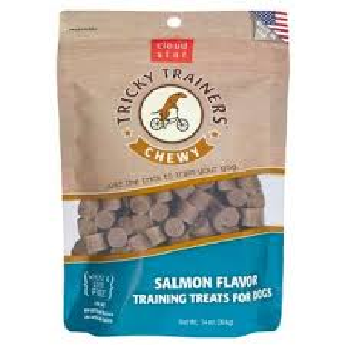 Buddy-Chewy Tricky Trainers Salmon   5oz