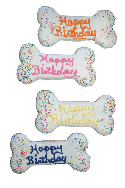 Bakery-Birthday Bone  Asst