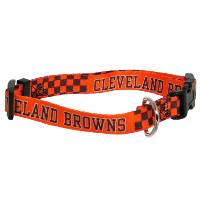 Cle Browns Ribbon Collar