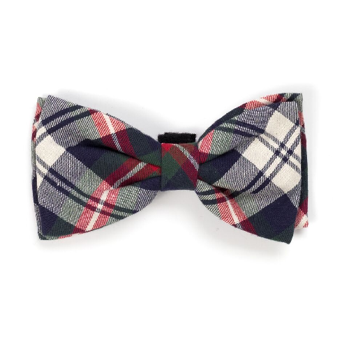 Bowtie-Navy Plaid
