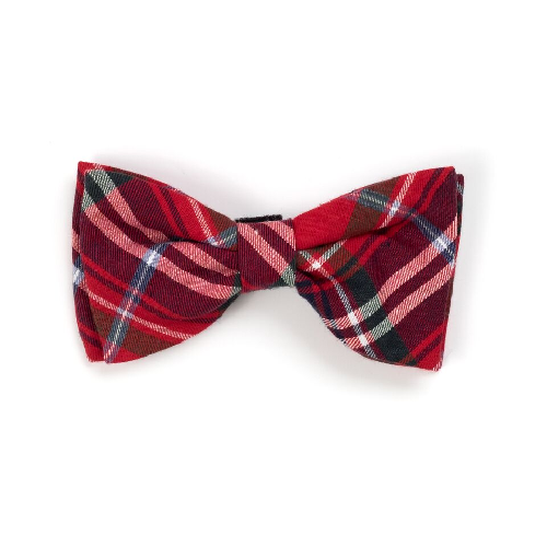 Bowtie-Red Plaid