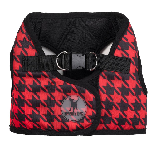 Printed Harness-Houndstooth