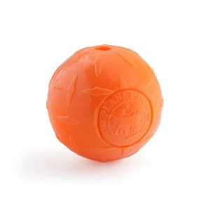 Orbee Diamond Plate Ball  Orange 4