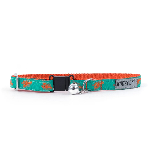 Cat Collar-Lobster  Orange 8-10