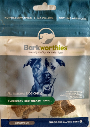 Bark-CBD Treat Blueberry   Small