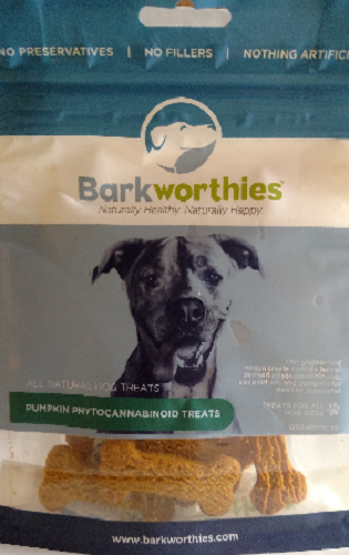 Bark-CBD Treat Pumpkin   Large