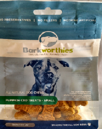 Bark-CBD Treat Pumpkin   Small