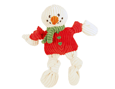 Huggle Knotties Snowman  White Wee