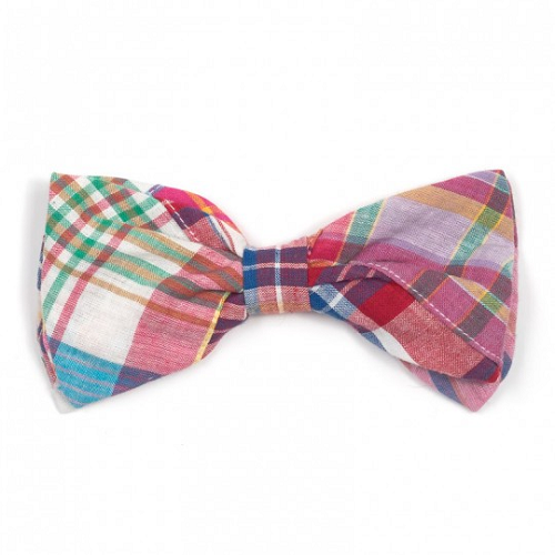 Bowtie-Bright Madras Patch