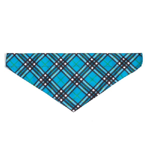 Bandana-Bias Plaid Blue