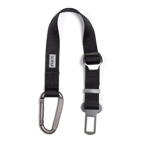 Seat Belt Attachment  Black Adjustable