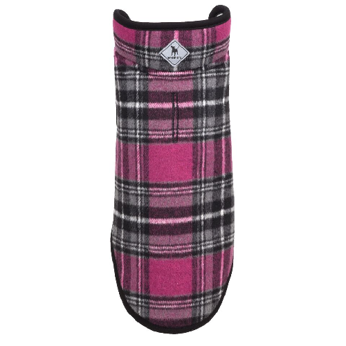 Alpine Fleece-Pink/Black Plaid*