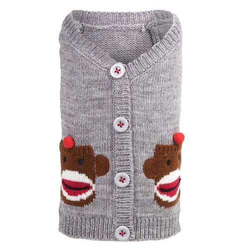 Cardigan-Sock Monkey