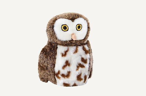 Fluff-Woodrow Owl  Brown/white 8