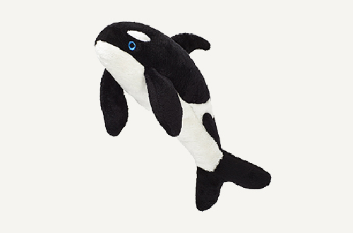 Fluff-Willy Whale  Black/white 12