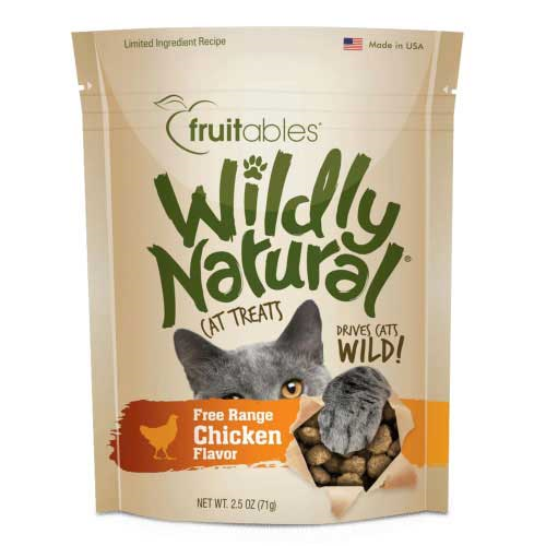 FB-WildlyNat Cat Treat Ckn  Chicken 2.5oz