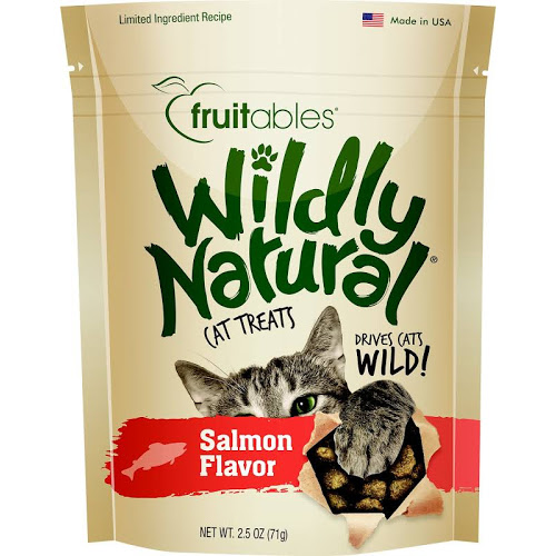 FB-WildlyNat Cat Treat Salmon  Salmon 2.5oz