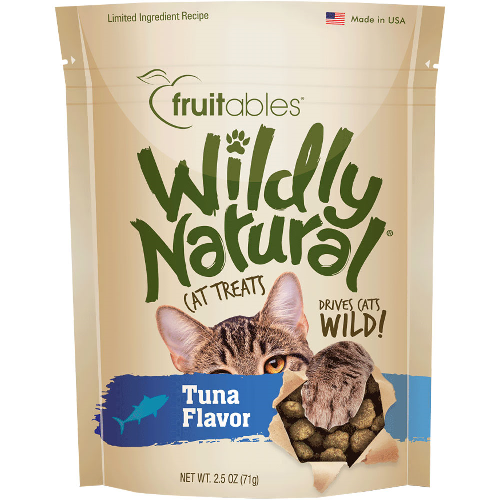 FB-WildlyNat Cat Treat Tuna  Tuna 2.5oz