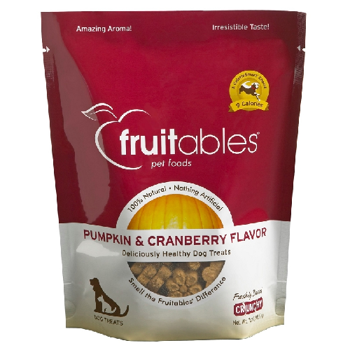 Fruitables-Pumpkin & Cranberry   7oz