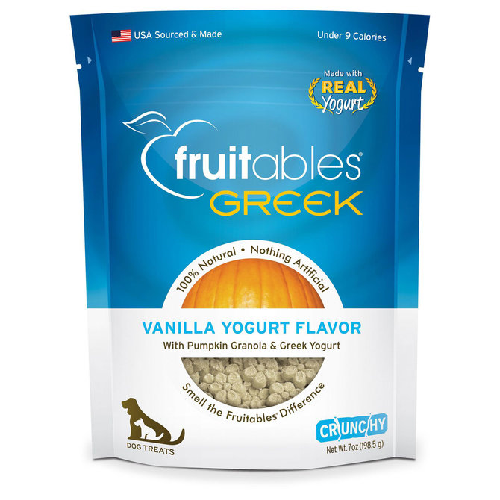 Fruitables-Greek Vanilla Yogurt   7oz