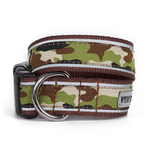 Collar-Camo Brown*