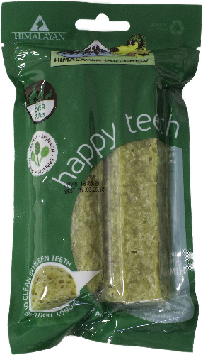 HDC-Happy Teeth 2pk  Spinach LG