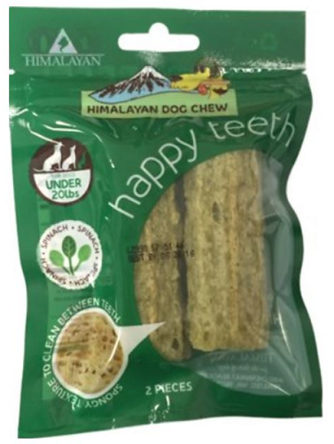 HDC-Happy Teeth 2pk  Spinach SM
