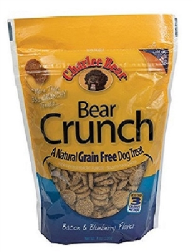 Charlee Bear GF Bear Crunch-Bacon   8oz