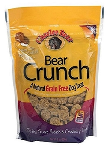 Charlee Bear GF Bear Crunch-Turkey   8oz
