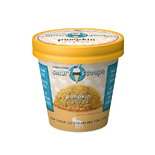 PC-Smart Scoops Goat's Milk Ice Cream  Pumpkin 5.25oz