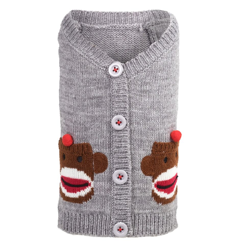 Cardigan-Sock Monkey*