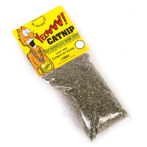 Yeowww!-Catnip Bag   1 oz.