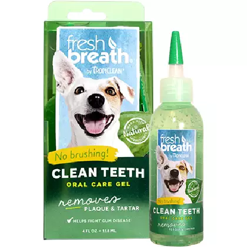 Tropiclean-Fresh Breath Clean Teeth Oral Gel   4oz
