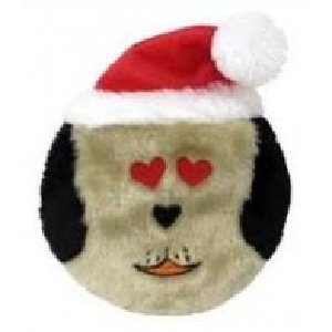 Petlou Xmas DOGz I Love You  Brown 7