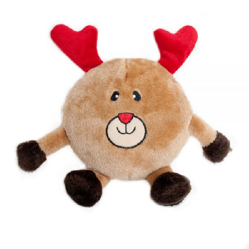 ZP-Holiday Brainey Reindeer  Brown