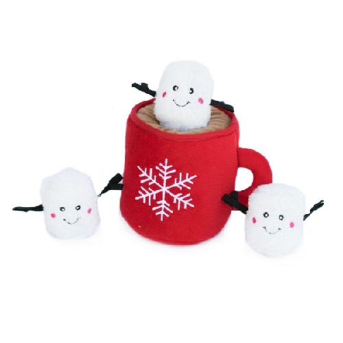 ZP-Holiday Burrows Hot Cocoa  Red
