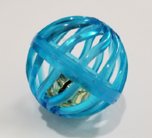 Cat Toys-Lattice Ball bulk Blue