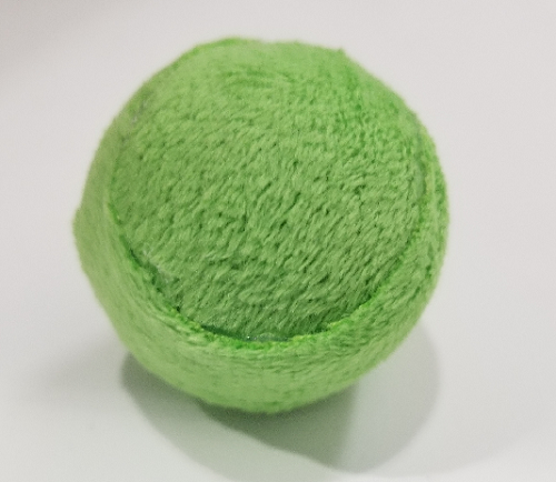 Cat Toys-Rattle Ball bulk Green