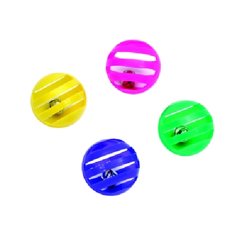 Cat Toys-Spiny Lattice Ball bulk Asst