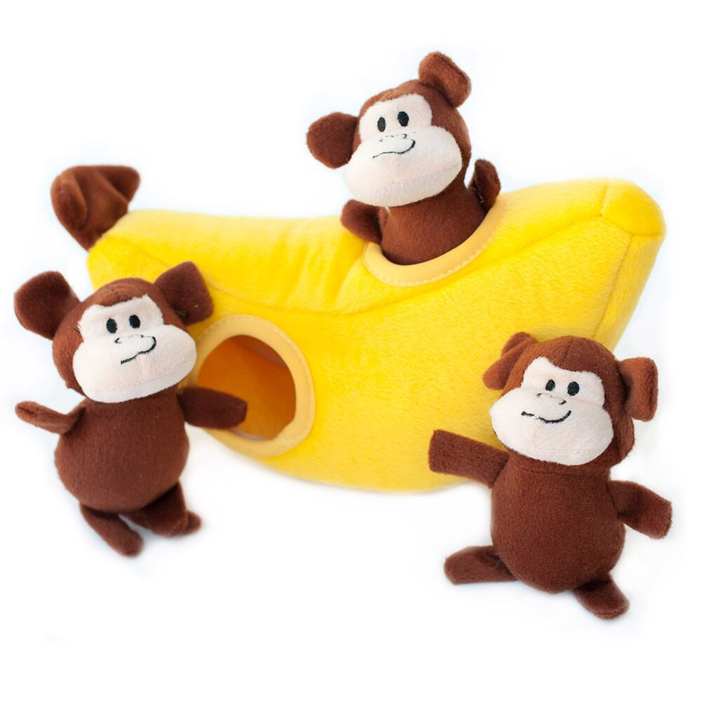 ZP-Burrows Monkey/Banana  Yellow