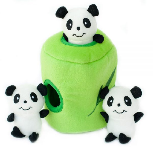 ZP-Burrows Bamboo w/Pandas  Green