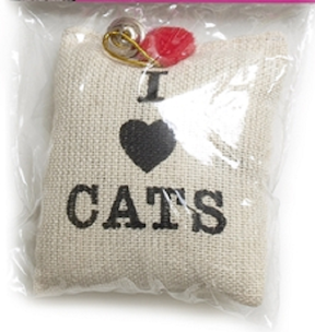 Cat Toys-Catnip Burlap Sack bulk Canvas