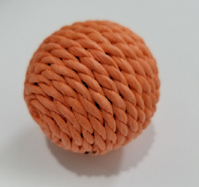 Cat Toys-Sisal Ball Bulk Orange
