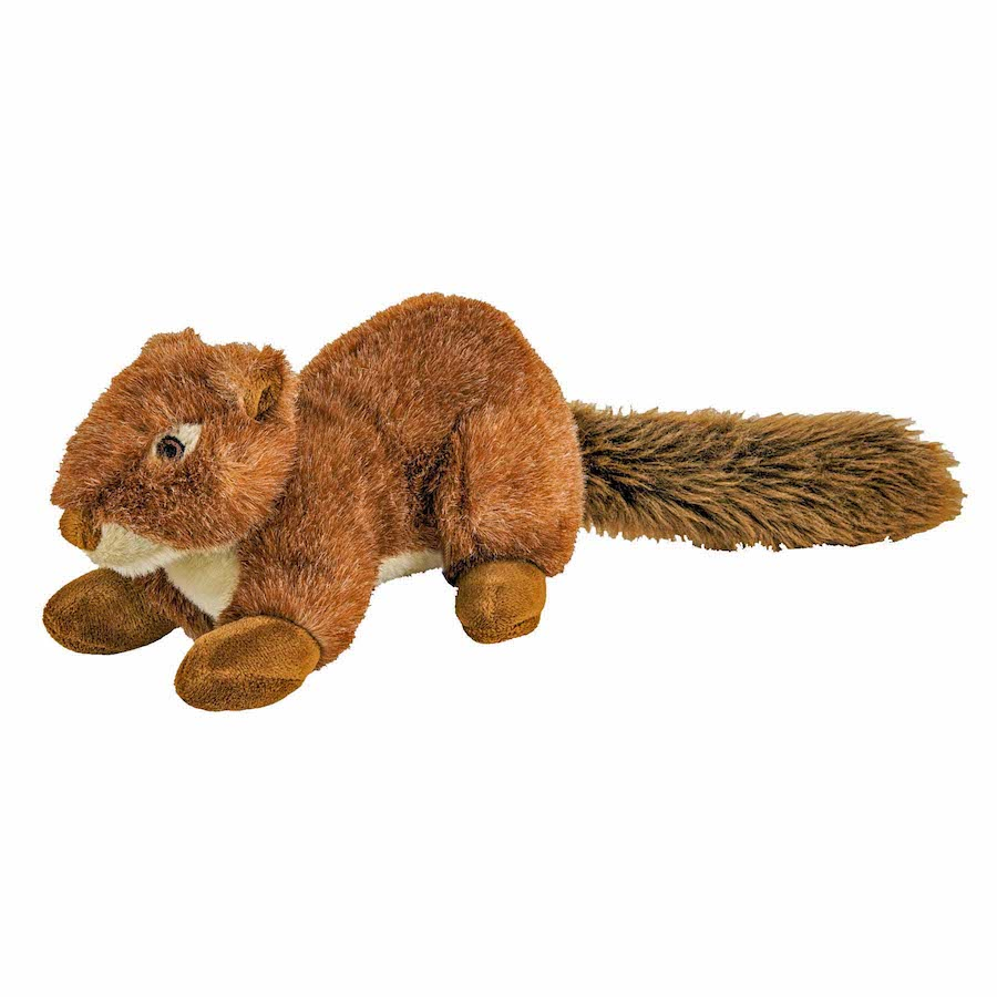 """Fluff-Nuts Squirrel  Red 12"""""""