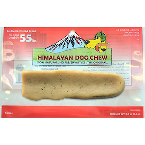 HDC-Himalayan Dog Chew Original  Red LG 3.5oz
