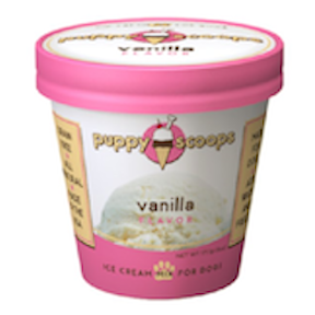 PC-Puppy Scoops Ice Cream Vanilla  Vanilla 6oz
