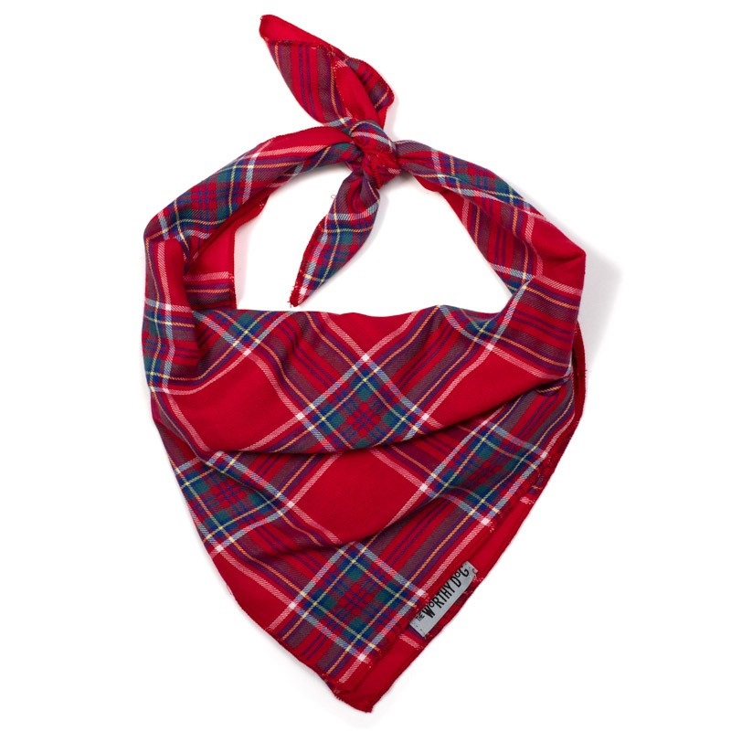 Bandana-Red Plaid II (Tie)*