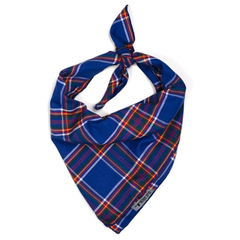 Bandana-Royal Plaid (Tie)*